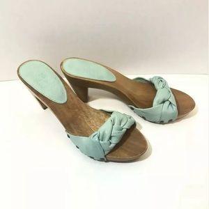 Frye Sammy Softie Slide Shoes Size 7